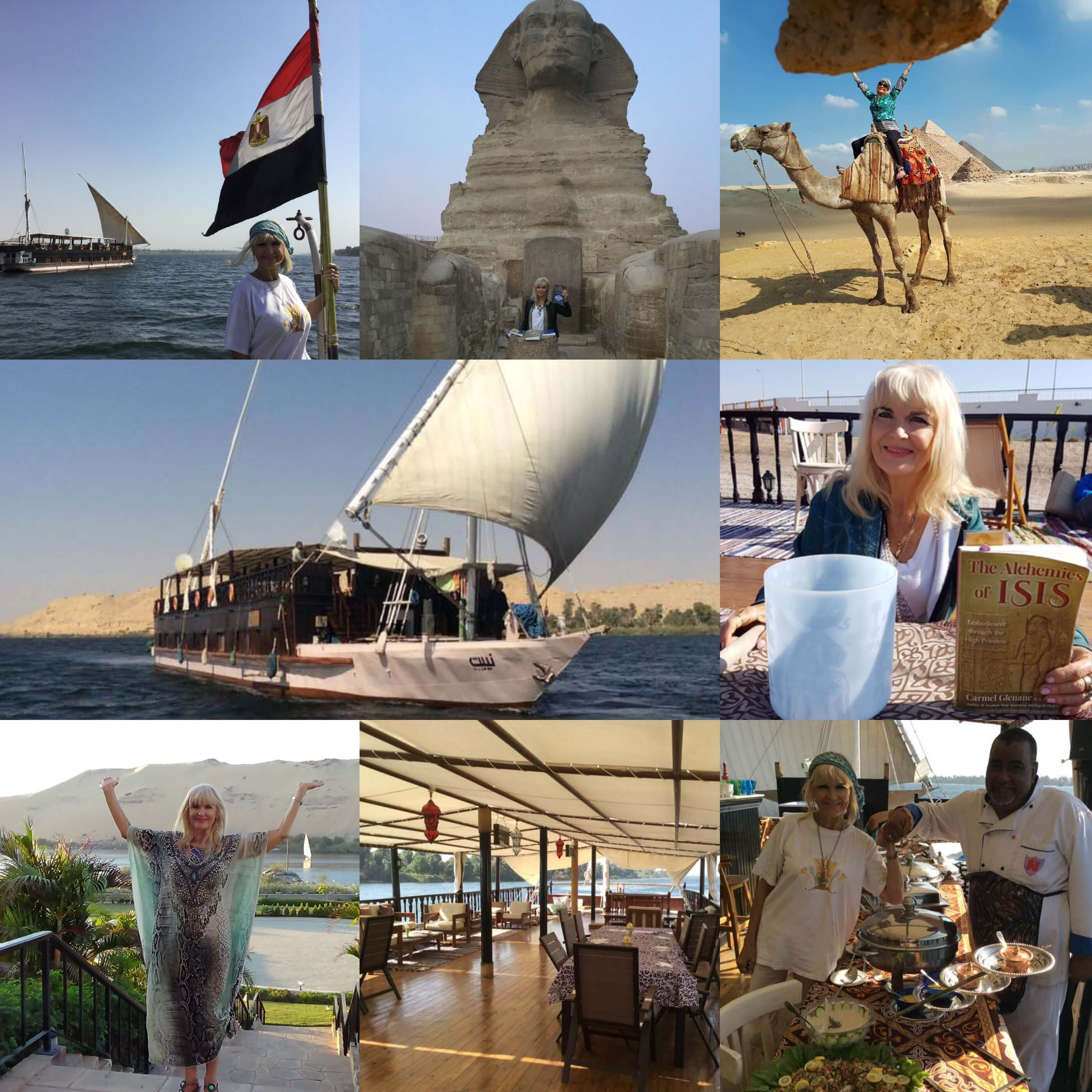 Receiving through The Heart of Egypt – 2018 Tour
